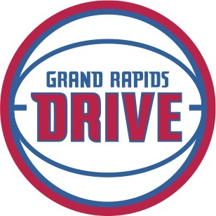 the logo for the Grand Rapids Drive