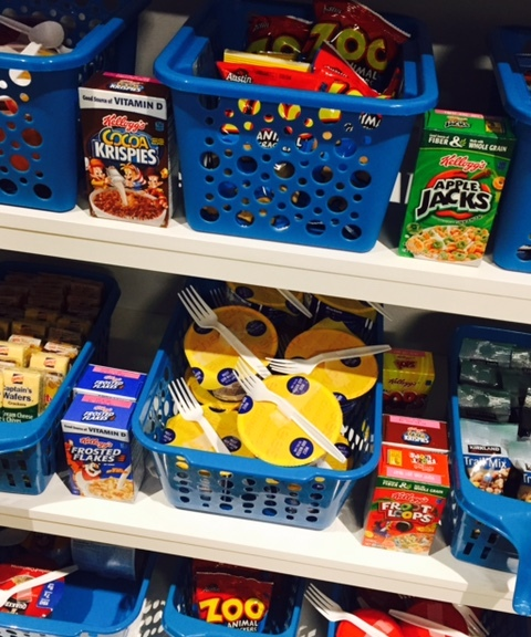Free Snack Pantry Opens In Student Center