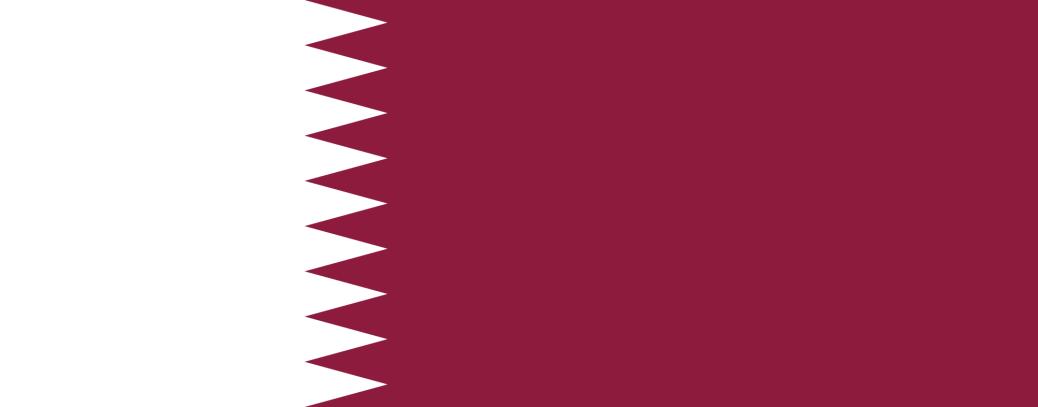 The Qatar flag