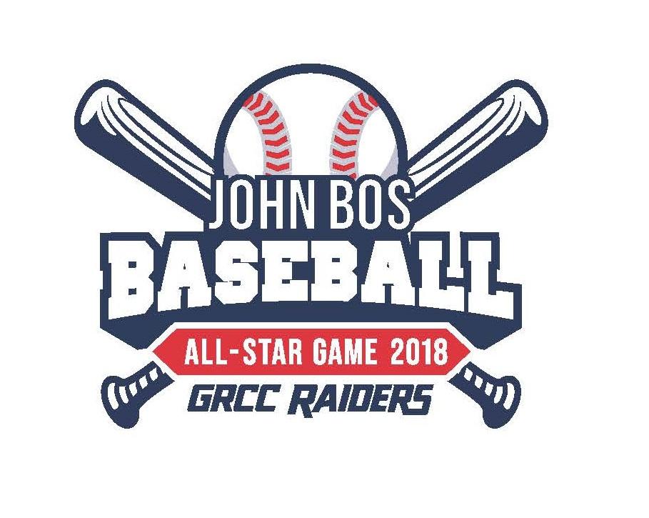 John Bos Baseball All-Star Game 2018. GRCC Raiders